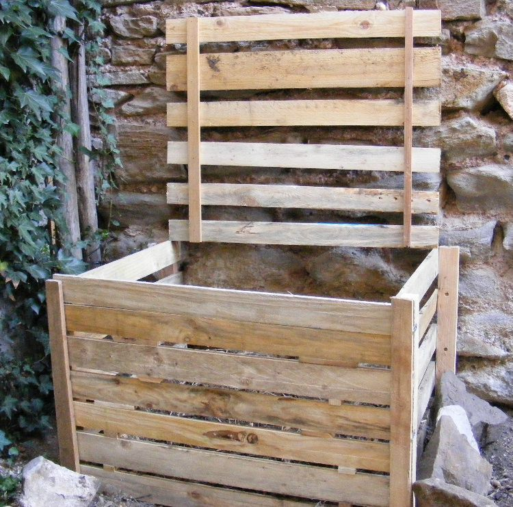 Fabriquer un composteur en bois